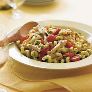 Pesto-Pasta-with-Grilled-Chicken-Recipe