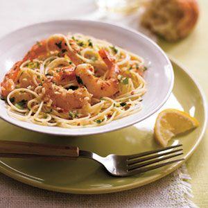 Garlic-Shrimp-with-Angel-Hair-Recipe