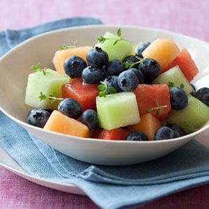 Blueberry-Melon-Salad-With-Thyme-Syrup-Recipe