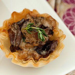 Wild-Mushroom-Tartlets-Recipe