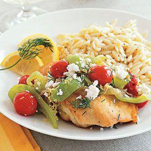 Greek-Chicken-Saute-Recipe