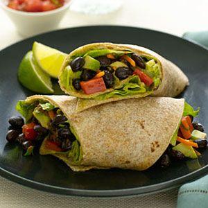 Avocado-Bean-Wrap-Recipe