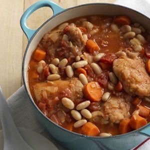 Tuscan-Chicken-Bean-Stew-Recipe