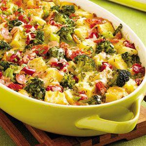 Savory-Broccoli-Bread-Pudding-Recipe