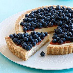 Lemon-Blueberry-Cheese-Tart-Recipe