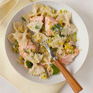 Farfalle-with-Salmon-Mint-Recipe