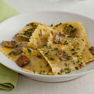 Ravioli-with-Garlic-Herb-Oil-Recipe
