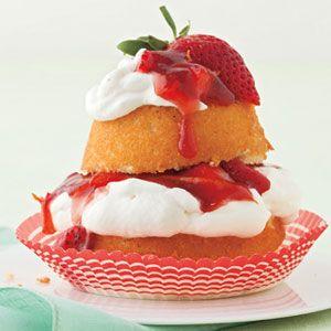 strawberry desserts   strawberry short cupcakes