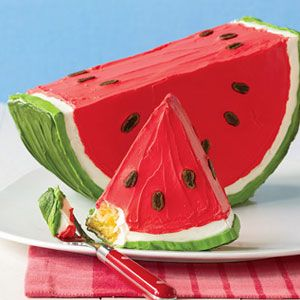 Watermelon Cake Recipe Woman S Day