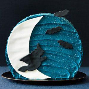 halloween desserts - moon cake recipe