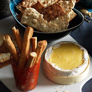 halloween finger foods -Melting Camembert
