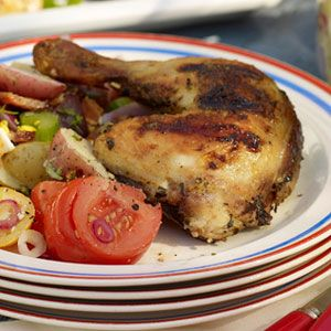Grilled-Chicken-with-White-Barbecue-Sauce-Recipe