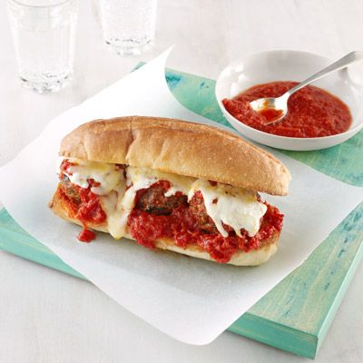 meatball heroes from leftover stuffing