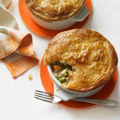 chicken and sweet potato pot pie