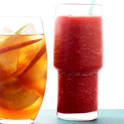 strawberry iced tea slushie
