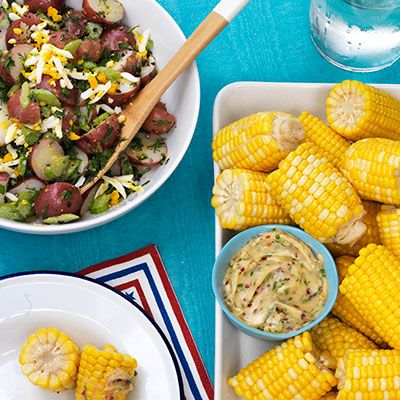 corn on the cob with honey lime butter