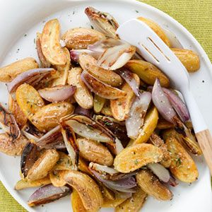 Roasted-Fingerling-Potatoes-Shallots-with-Herbed-Salt-Recipe