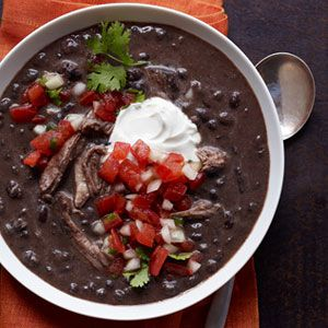 Slow Cooker Pork Black Bean Soup Recipe Slow Cooker Recipes At