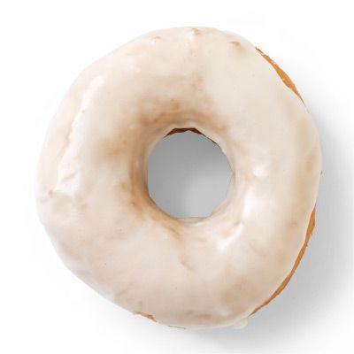 vanilla glazed yeast doughnuts