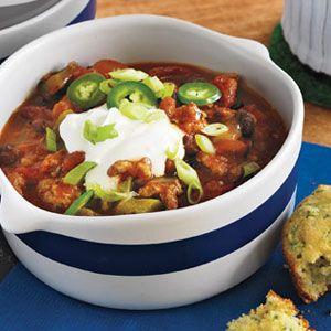 Turkey-Three-Bean-Chili-Recipe