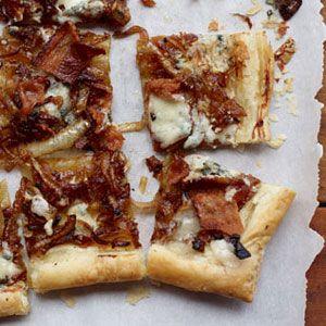 Caramelized-Onion-Bacon-Blue-Cheese-Tart-Recipe