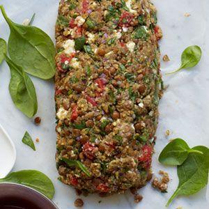 Lentil-Roasted-Pepper-Spinach-Vegetable-Loaf-Recipe