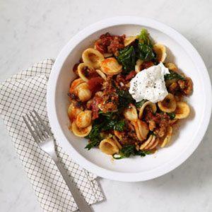 Italian-Sausage-and-Spinach-Orecchiette-Recipe
