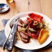 Cumin-Spiced-Flank-Steak-with-Grape-Tomato-Salsa-Recipe