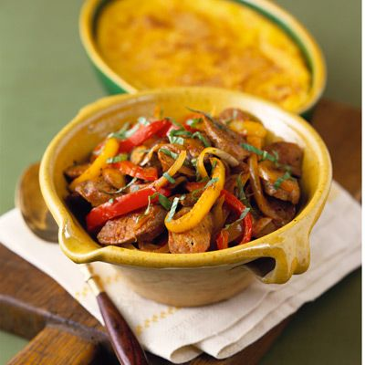 roasted sausage and peppers