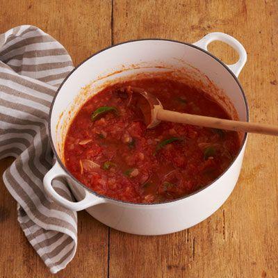 summer tomato sauce