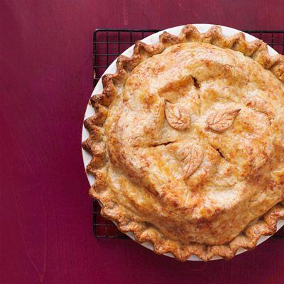 cheddar crusted apple pie