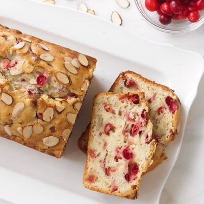 almond cranberry quick bread