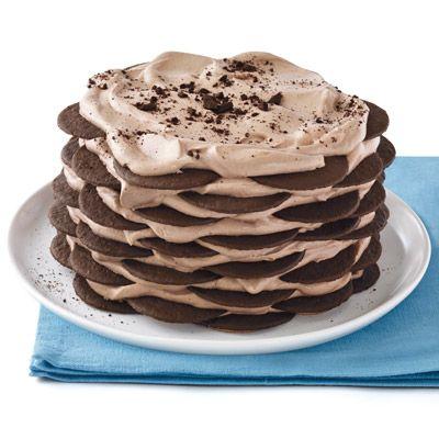 no bake hot cocoa cake