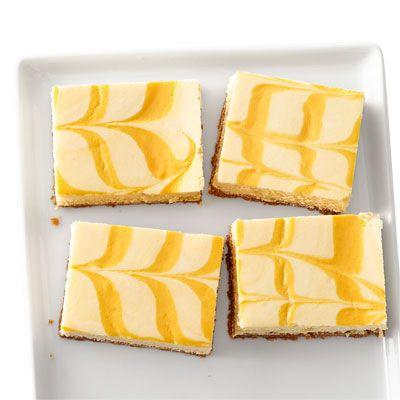creamsicle cheesecake bars