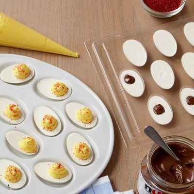 "Double Chocolate ""Deviled Eggs"""
