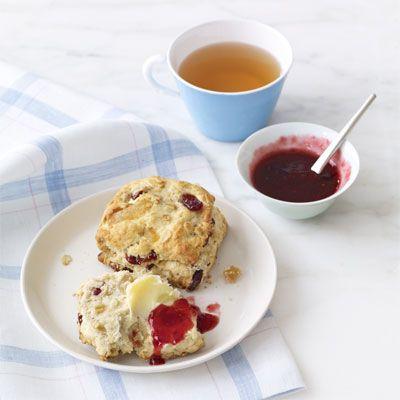 cranberry oat scones