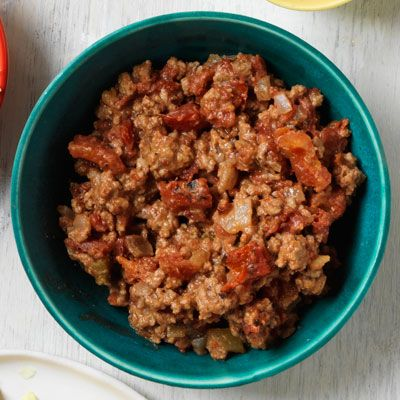 chipotle and tomato beef taco filling