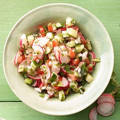 crunchy garden salsa
