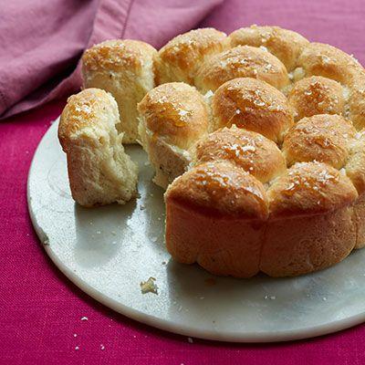 maple rosemary parker house rolls