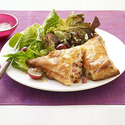 ham turkey and cheese turnover