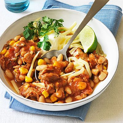 Clinton Kelly S Slow Cooker White Bean Chicken Chili Recipe