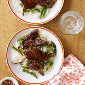 Beef-Mushroom-and-Green-Bean-Stir-Fry-Recipe