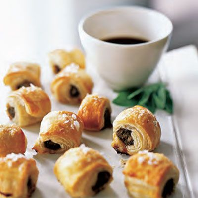 sausage rolls with worcestershire sauce