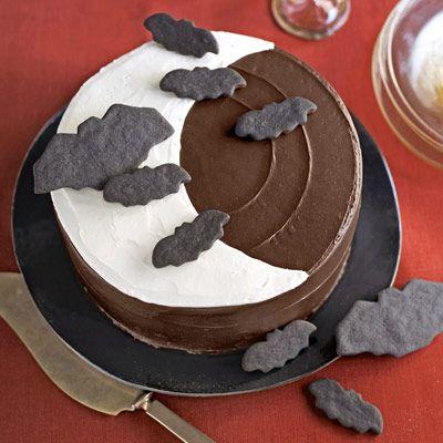 over the moon cake chocolate halloween cake