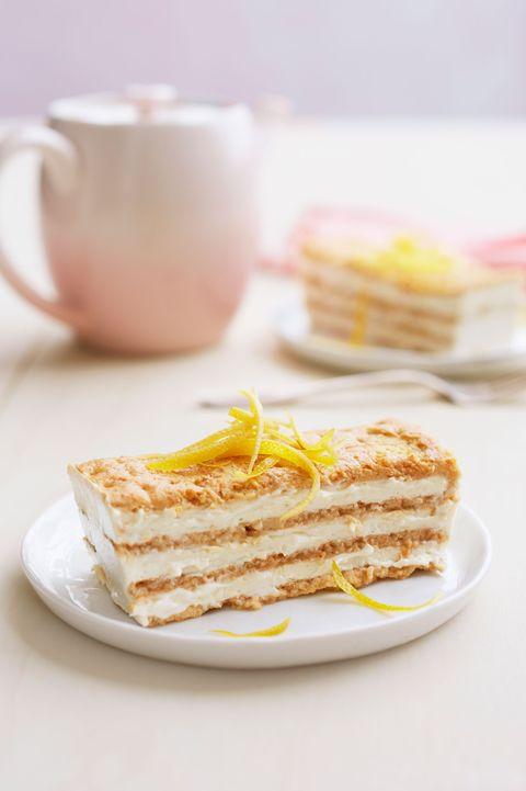 lemon maple icebox cake- easter cakes