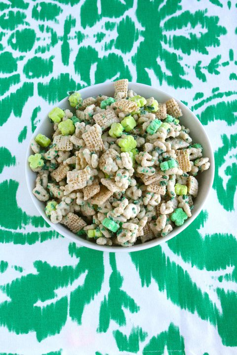 St. Patrick's Day Recipes - Leprechaun Chow