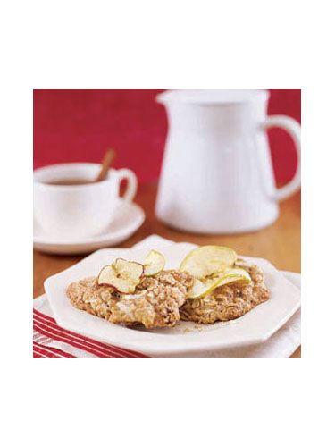 Muffin-Top Apple Oatmeal Cookies