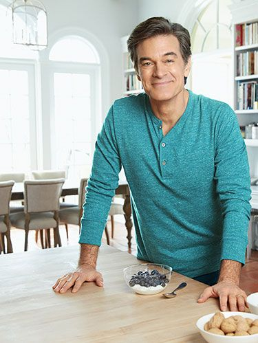 Dr. Oz with Blueberries