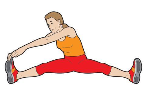 stretch your legs diagram