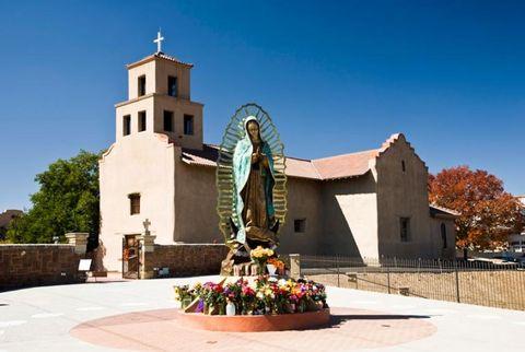 santuario de guadalupe in santa fe new mexico